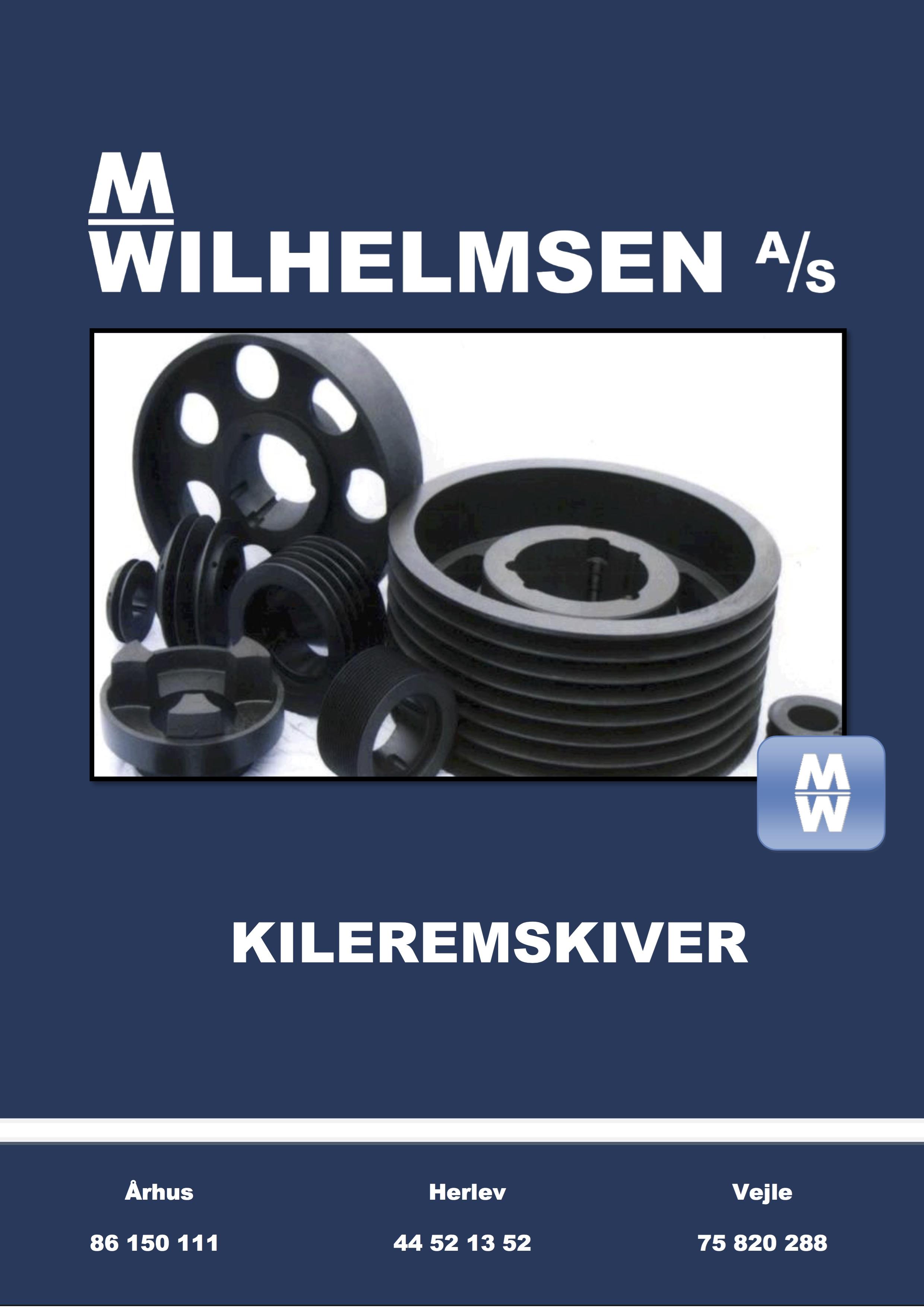 Kileremskiver katalog