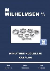 Miniature_kugleleje_katalog_M_Wilhelmsen