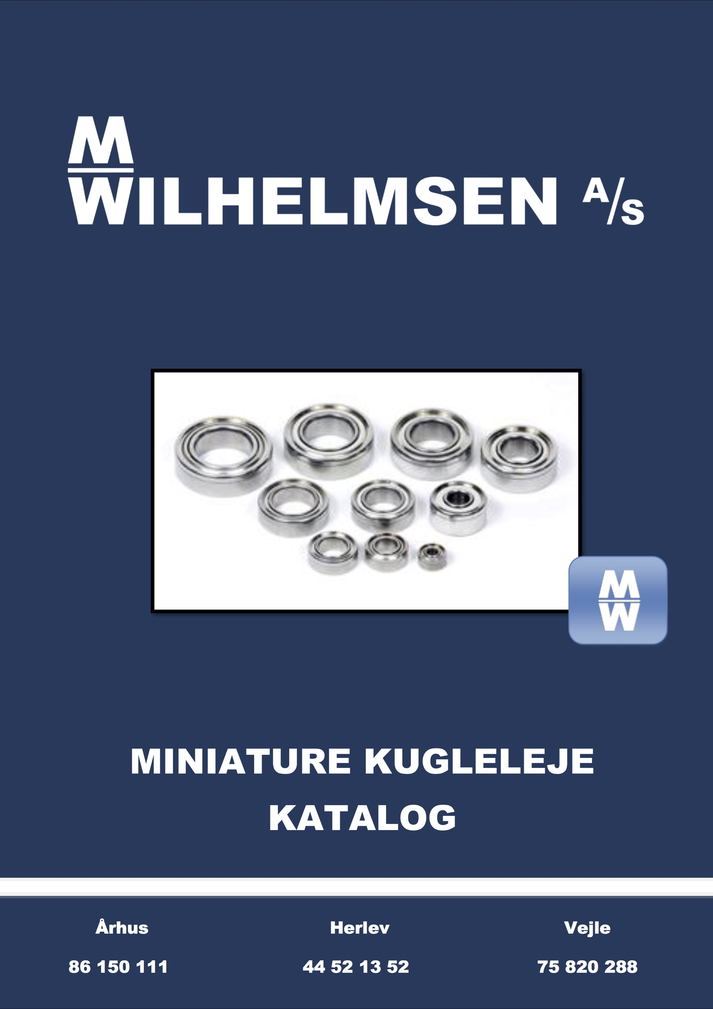 Miniature kugleleje katalog