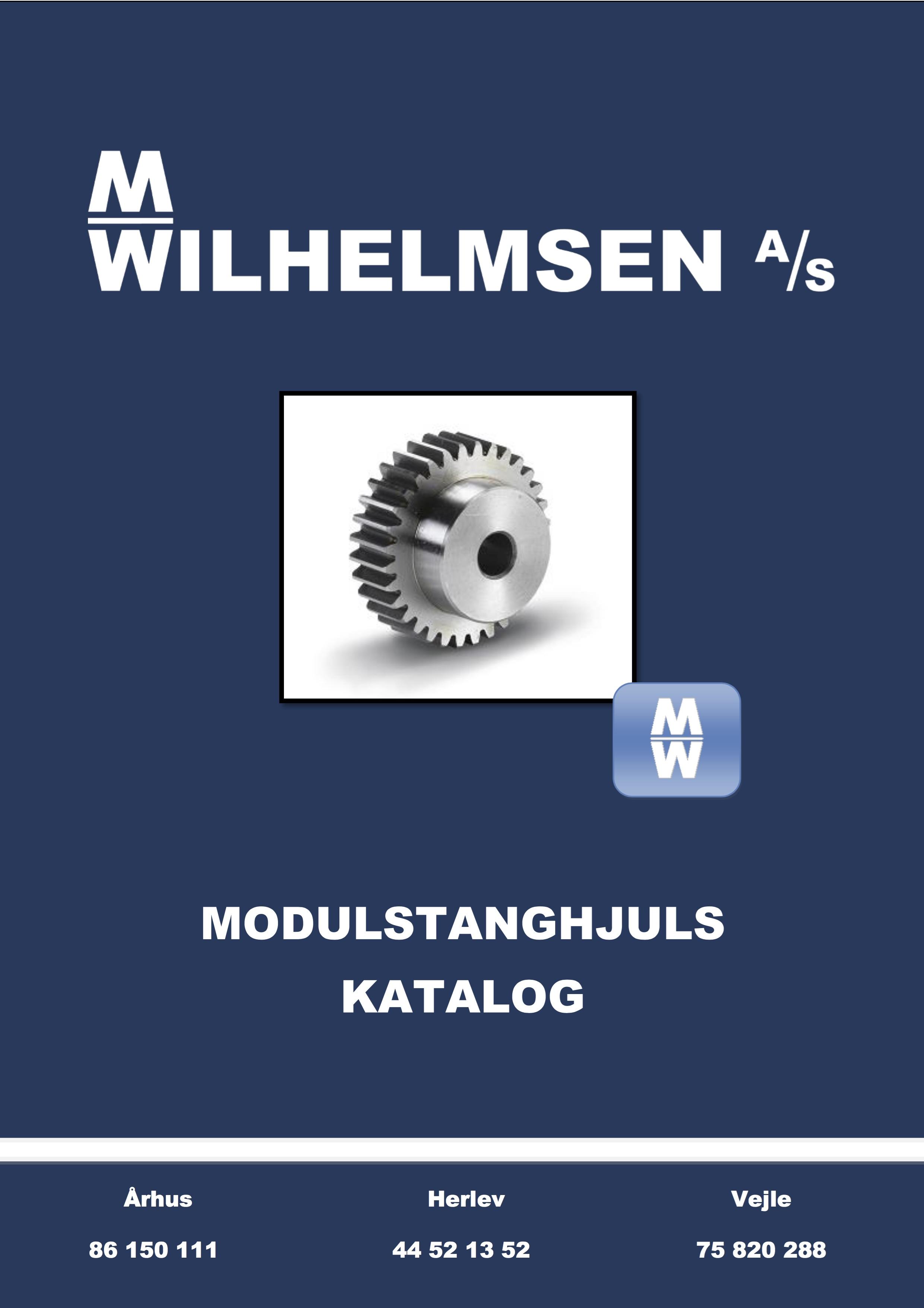 Modulstanghjul katalog
